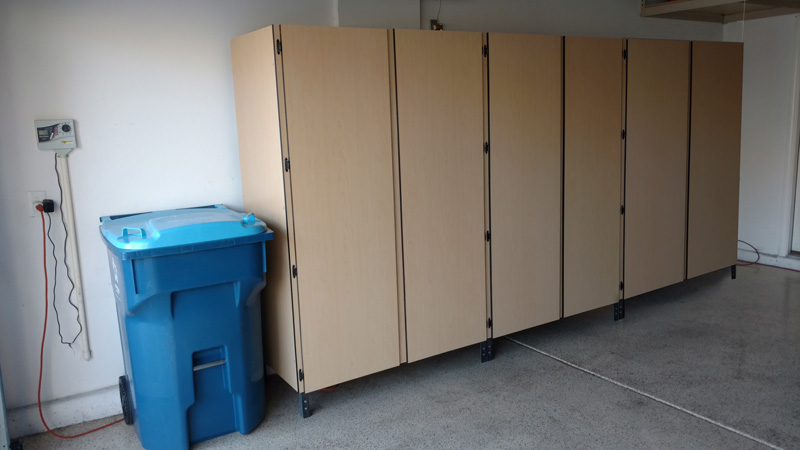 Garage Cabinets Are Also A Great Place To Keep Your Familyu0027s Paper Towels,  Toilet Paper, Household Chemicals, Etc. In A Safe Enclosed Area.