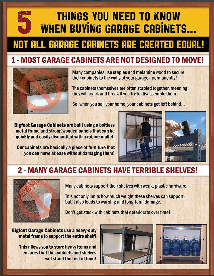 Bigfoot Garage Cabinets Las Vegas
